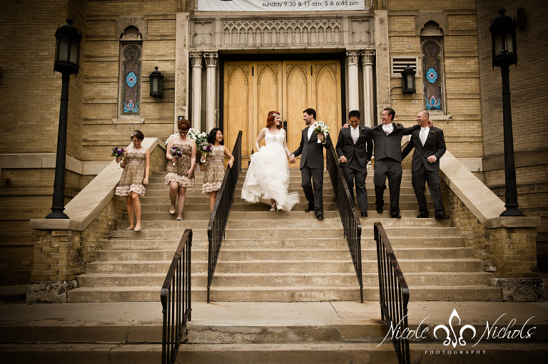 Wedding at Temple Events Center/ Pathways Church