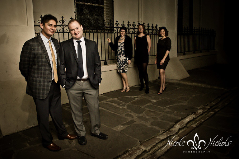 Wedding Party in Jackson Square