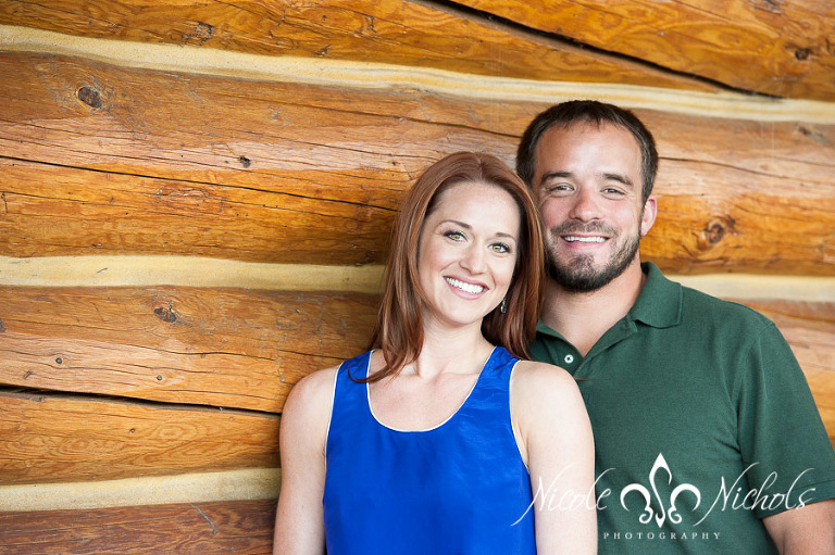 Colorado Engagement Pictures at the Evergreen Lake House