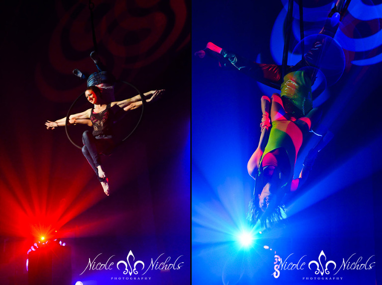Aerial Performers at the Orient Theatre in Denver